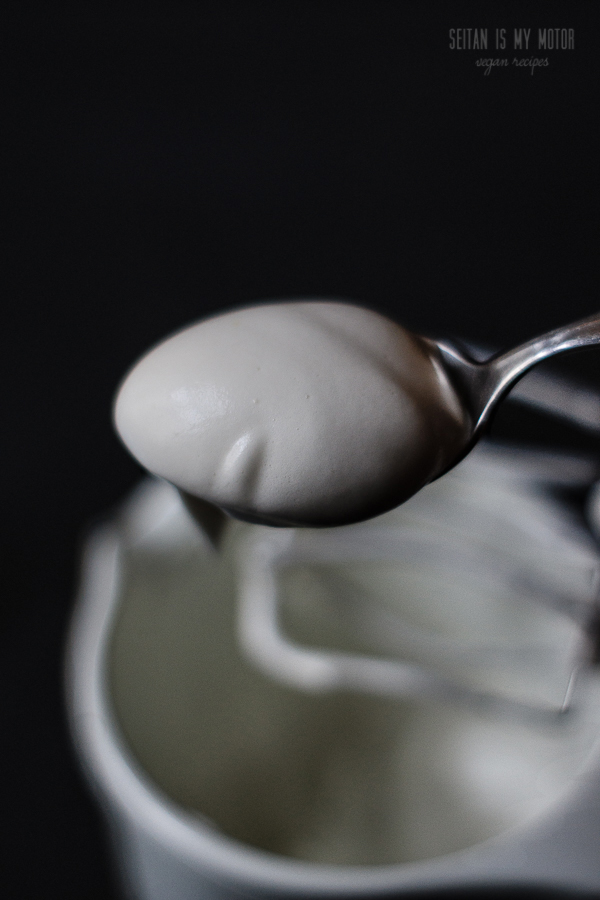 vegan beaten egg whites | www.seitanismymotor.com
