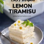 Vegan Lemon Tiramisu